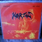 KORZUS Ao Vivo LP 1986 NEAR MINT VERY RARE BRAZIL METAL