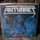 ANTHARES No Limite Da Forca LP 1987 VERY RARE BRAZIL ME
