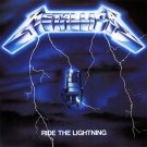 METALLICA ride the lightning CD 1984 THRASH METAL