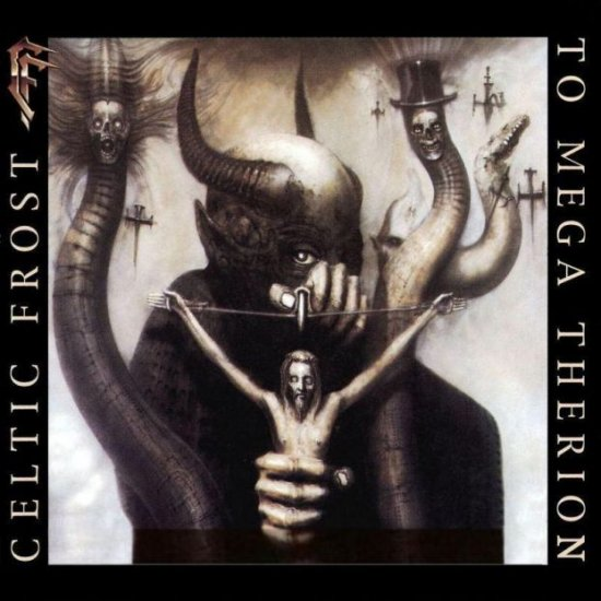 CELTIC FROST To mega therion CD 1985 DEATH METAL**