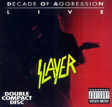 SLAYER decade of agression live 2CD 1991 THRASH METAL**