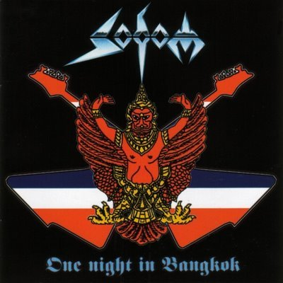 SODOM one night in bangkok 2CD 2003 THRASH METAL**