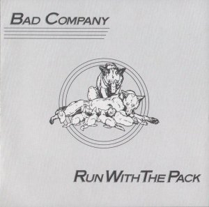 BAD COMPANY run with the pack MINI VINYL CD 1975 ROCK