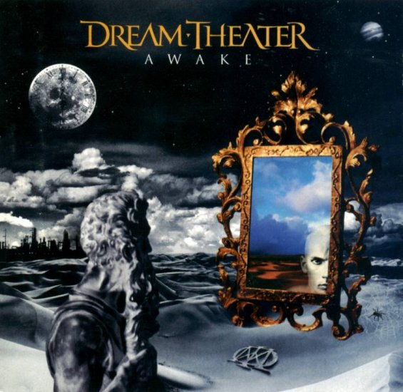 DREAM THEATER awake CD 1994 PROGRESSIVE METAL ROCK**
