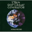VAN DER GRAAF GENERATOR world record MINI VINYL CD 1976 PROGRESSIVE ROCK