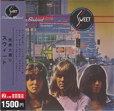 SWEET desolation boulevard MINI VINYL CD 1974 GLAM ROCK
