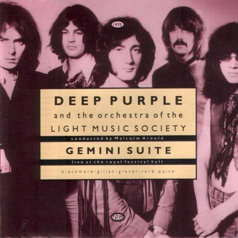 DEEP PURPLE AND THE ORCHESTRA OF THE LIGHT MUSIC SOCIETY gemini live MINI VINYL CD 1993 HARD ROCK