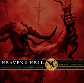 HEAVEN AND HELL the devil you know MINI VINYL CD 2009 HEAVY METAL
