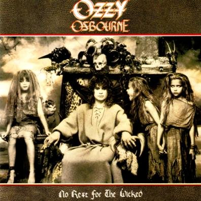 OZZY OSBOURNE no rest for the wicked MINI VINYL CD 1988 HEAVY METAL