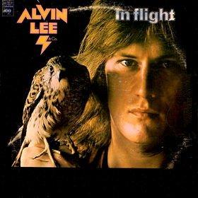 ALVIN LEE in flight MINI VINYL CD 1974 ROCK