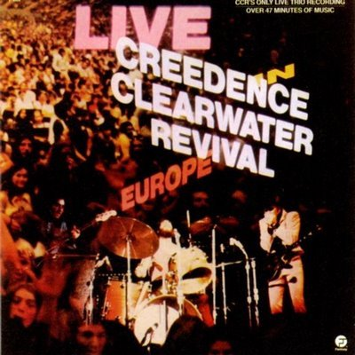 CREEDENCE CLEARWATER REVIVAL live in europe MINI VINYL CD 1973 ROCK