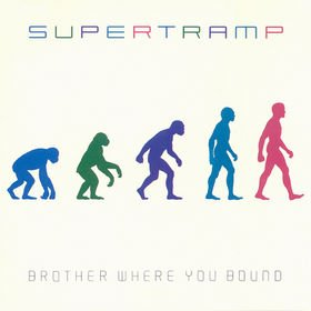 SUPERTRAMP brother where you bound MINI VINYL CD 1985 PROGRESSIVE POP