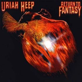 URIAH HEEP return to fantasy MINI VINYL CD 1975 HARD ROCK
