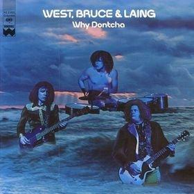 WEST, BRUCE & LAING why dontcha MINI VINYL CD 1972 HARD ROCK