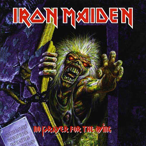 IRON MAIDEN no prayer for the dying CD 1990 HEAVY METAL