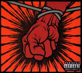METALLICA st.anger CD 2003 ALTERNATIVE METAL