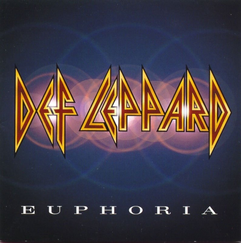 DEF LEPPARD euphoria CD 1999 HARD ROCK