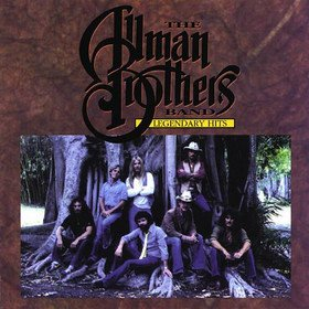 THE ALLMAN BROTHERS BAND legendary hits CD 1994 SOUTHERN ROCK