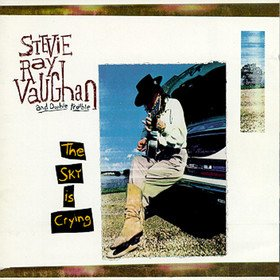 STEVIE RAY VAUGHAN the sky is crying CD 1991 BLUES ROCK