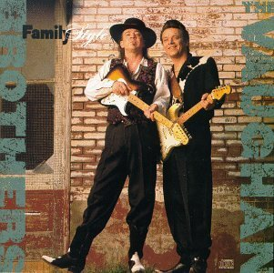 THE VAUGHAN BROTHERS family style CD 1990 BLUES ROCK