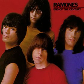 RAMONES end of the century CD 1980 PUNK ROCK