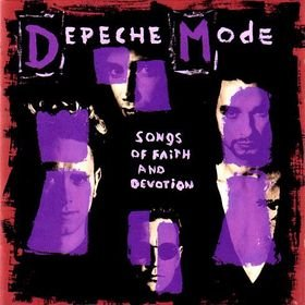 DEPECHE MODE songs of faith and devotion CD 1993 ALTERNATIVE ROCK SYNTH POP
