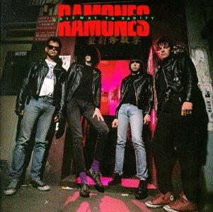 RAMONES halfway to sanity CD 1987 PUNK ROCK