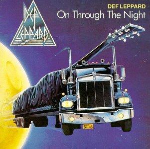DEF LEPPARD on through the night CD 1980 HARD N'HEAVY METAL