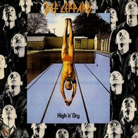 DEF LEPPARD high 'n' dry CD 1981 HARD 'N' HEAVY METAL