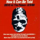 DEVO now can be told - devo at the palace 12/9/88 CD 1989 NEW WAVE