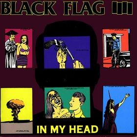 BLACK FLAG in my head CD 1985 HARDCORE PUNK