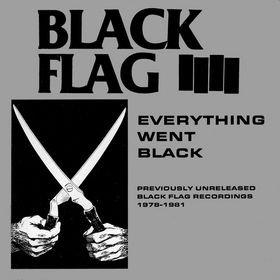 BLACK FLAG everything went black CD 1982 HARDCORE PUNK