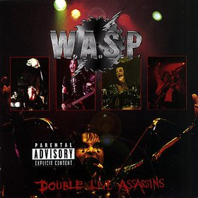 WASP double live assassins CD 1998 HEAVY METAL