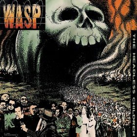 WASP the headless children CD 1989 HEAVY METAL