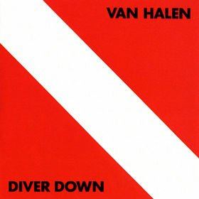 VAN HALEN diver down CD 1982 HARD ROCK
