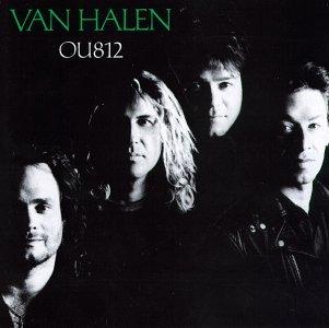 VAN HALEN OU812 CD 1988 HARD ROCK
