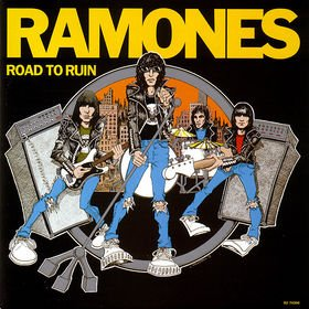 RAMONES road to ruin CD 1978 PUNK ROCK