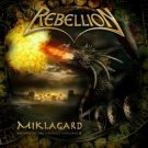 REBELLION miklagard - the hystory of the vikings, volume 2 CD 2007 HEAVY METAL
