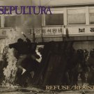 SEPULTURA refuse/resist CD 1994 THRASH METAL