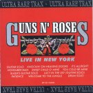 GUNS N' ROSES live in new york CD 1996 HARD ROCK