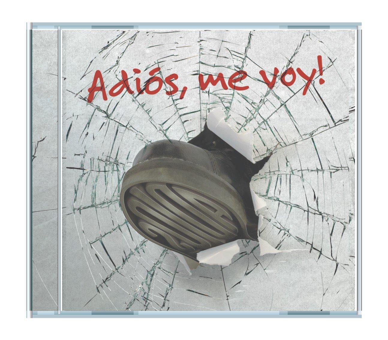 ADIOS, ME VOY! adios, me voy! CD 2011 POP ROCK