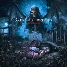 AVENGED SEVENFOLD nightmare CD 2010 MELODIC METALCORE