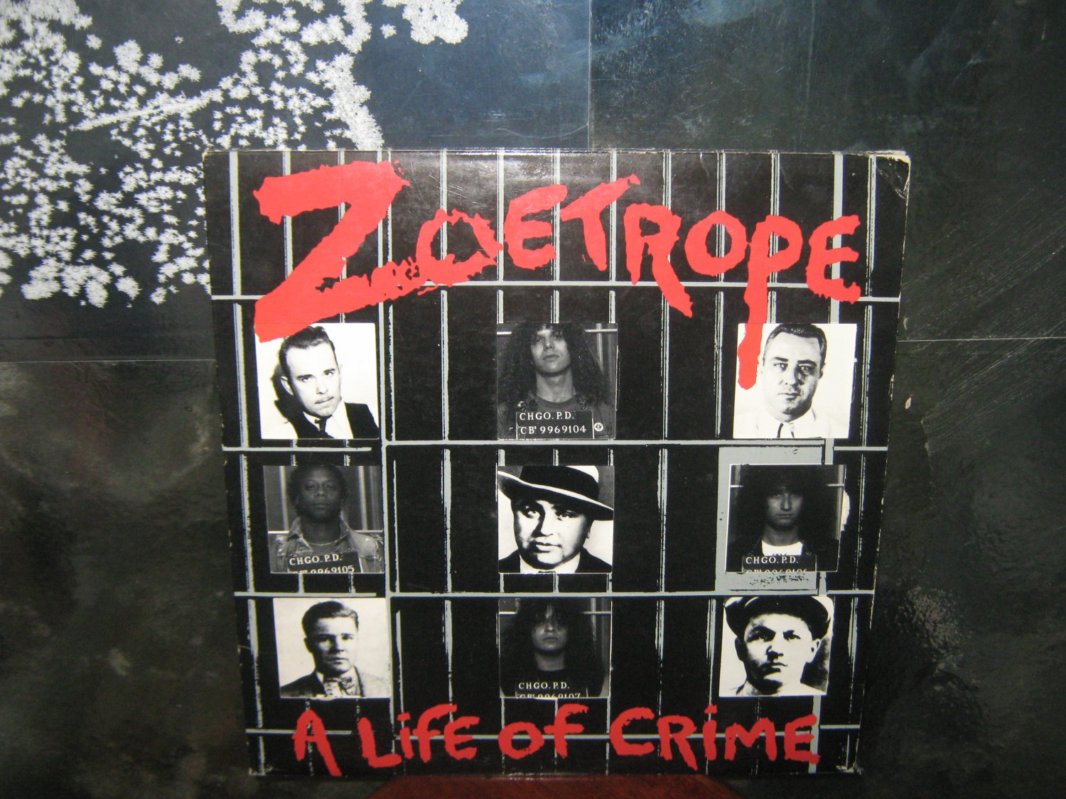 ZOETROPE a life of crime LP 1987 THRASH METAL
