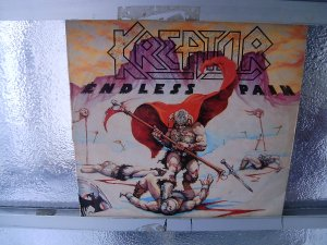 KREATOR endless pain LP 1985 THRASH METAL
