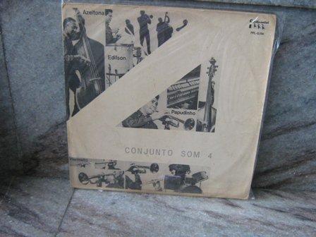 CONJUNTO SOM 4 S/T(196?) LP 196? BRAZIL JAZZ HERMETO PASCOAL