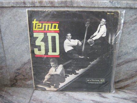 TRIO 3D Convida LP 1964 BRAZIL JAZZ MEIRELLES PAULO MOURA