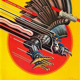 JUDAS PRIEST screaming for vengeance CD 1982 HEAVY METAL