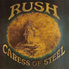 RUSH caress of steel CD 1975 PROGRESSIVE ROCK