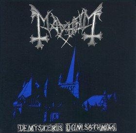 MAYHEM de mysteriis dom sathanas CD 1994 BLACK METAL