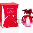 Delices de Cartier by Cartier ~ .16 oz / 5 ml Eau de Parfum Splash Mini ( Women Perfume )